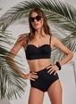 Morhipo Beach Yüksek Bel Bikini Siyah